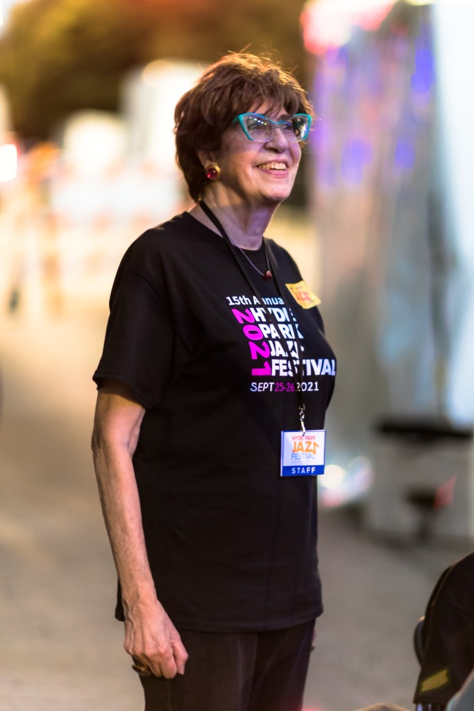 Hyde Park Jazz Festival cofounder Judith Stein