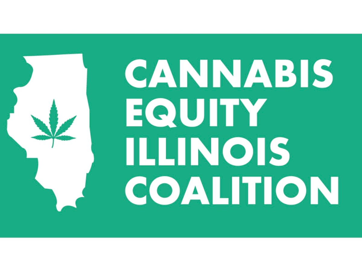 Cannabis Equity Illinois Coalition logo in green