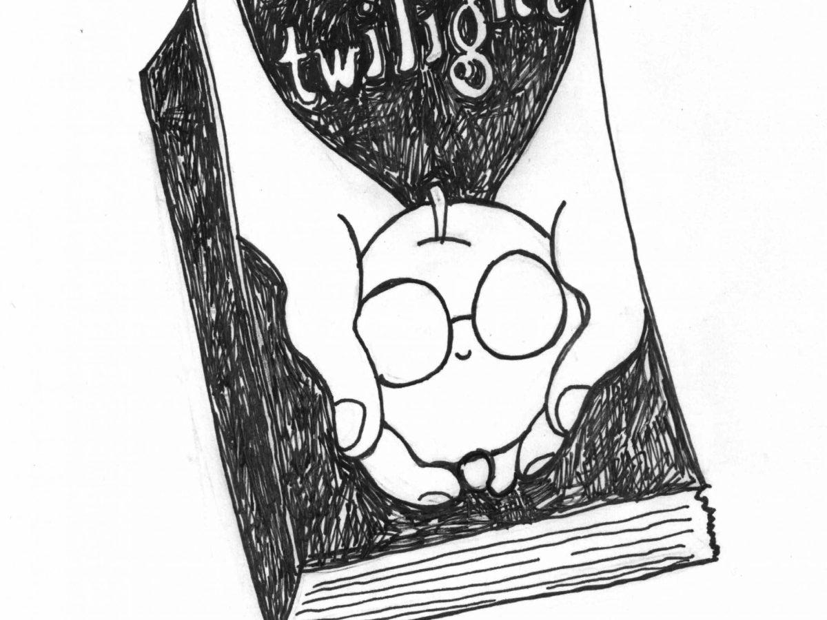 Twilight zine drawing