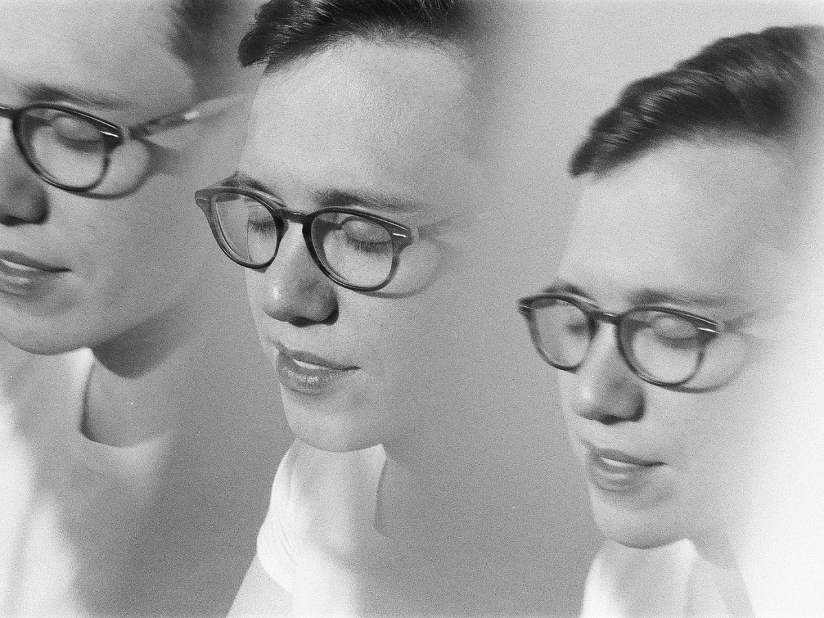 DPCD songwriter and bandleader Alec Watson, in black and white and triplicate
