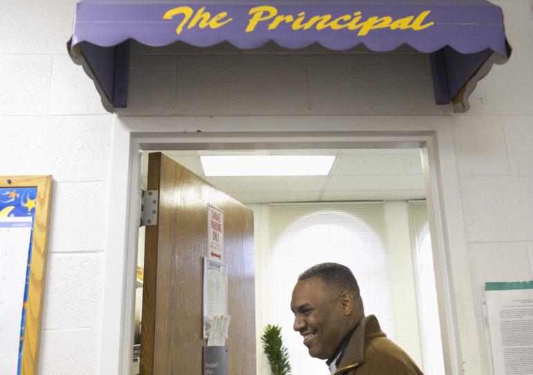 Dana Butler, principal of Irma C. Ruiz Elementary School, on Friday Nov. 20, 2015, at Irma C. Ruiz Elementary School. Photo by Michelle Kanaar