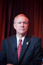 Gov. Bruce Rauner's plan for Illinois targets workers.