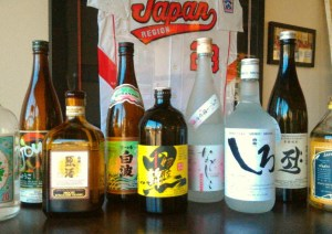 Try out a new Japanese liquor, shochu