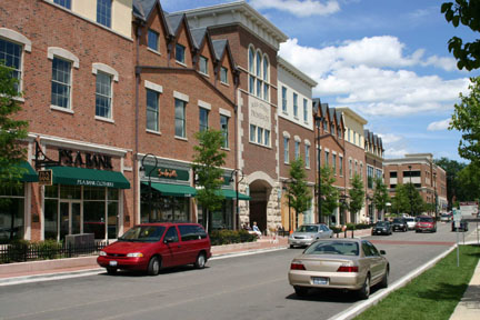 Shopping in Naperville, Illinois