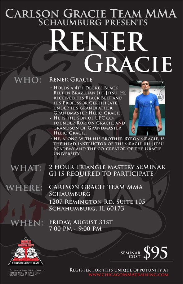 Rener Gracie Seminar