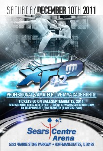 XFO 42, December 10, 2011 at the Sears Centre in Hoffman Estates, IL