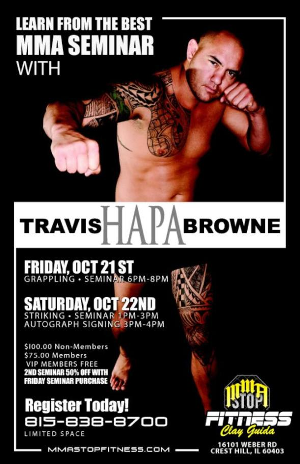 Travis Browne Seminar in Chicago