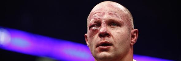 Fedor Emelianenko after the Antonio Silva fight