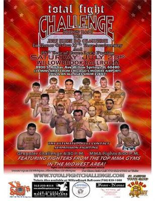 Total Fight Challenge, 7/23/11