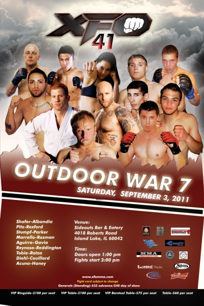 XFO 41, Outdoor War 7