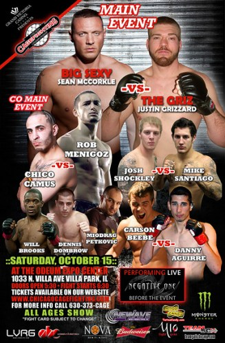 Chicago Cagefighting Championship IV