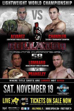 Bellator 58: Alvarez vs. Chandler