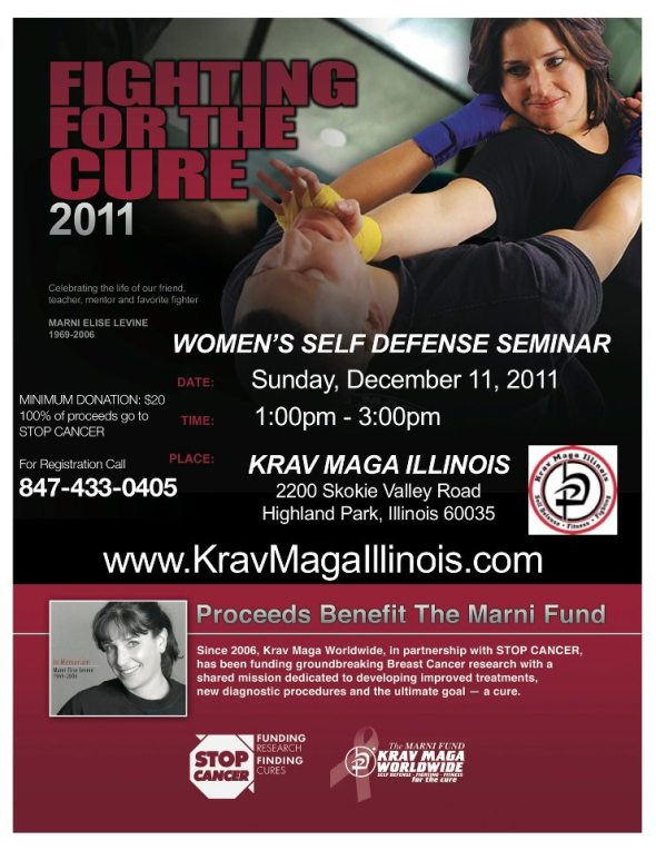 Fighting For the Cure 2011, Krav Maga Illinois