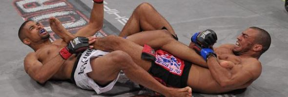 Karl Amoussou's Inverted Heel Hook