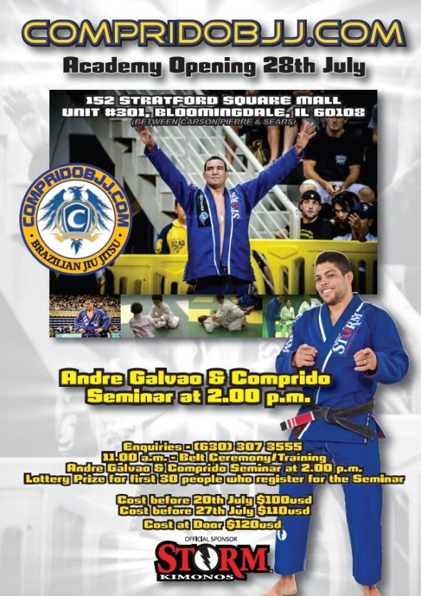 Comprido and Andre Galvao seminar