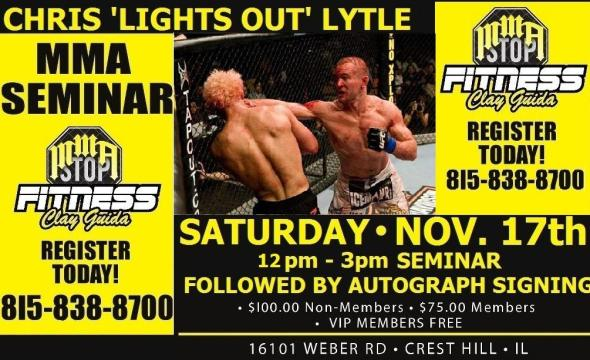Chris Lytle Seminar at MMA Stop Fitness