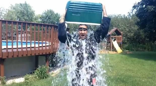 Ricardo Lamas ALS Ice Bucket Challenge