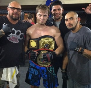 Thomas Holder, XFO Welterweight Champion