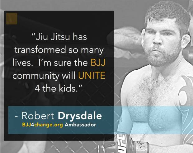 Robert Drysdale on BJJ