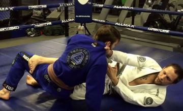 Jeff Curran Collar Choke Set Up