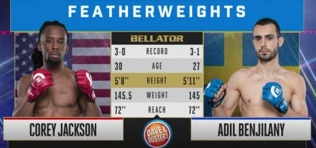Bellator 198 Video: Adil Benjilany vs. Corey Jackson
