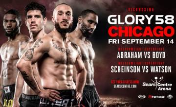 GLORY 58 Richard Abraham