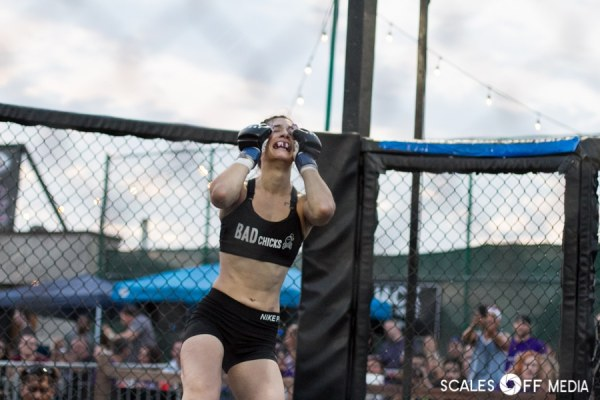 Kendra Kazmaier at XFO Outdoor War 14