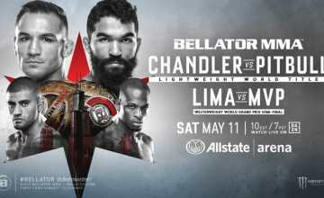 Bellator in Chicago May 11