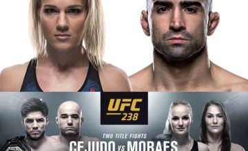 UFC 238 Felice Herrig and Ricardo Lamas