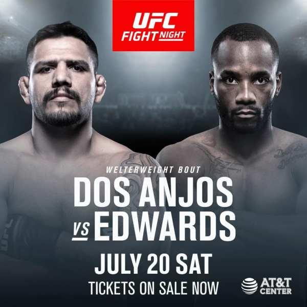 UFC: dos Anjos vs. Edwards