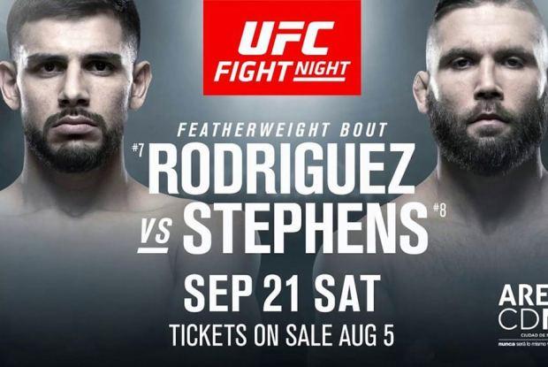 UFC Fight Night 159: Stephens vs. Rodriguez