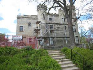 Castle Renovation South Fascade