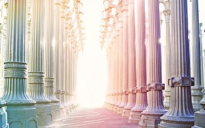 Rows of Columns Reaching Heaven
