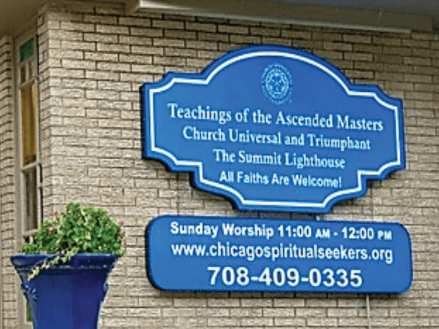 Teaching Center Sign