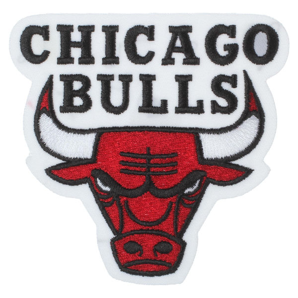 chicago bulls embroidered team