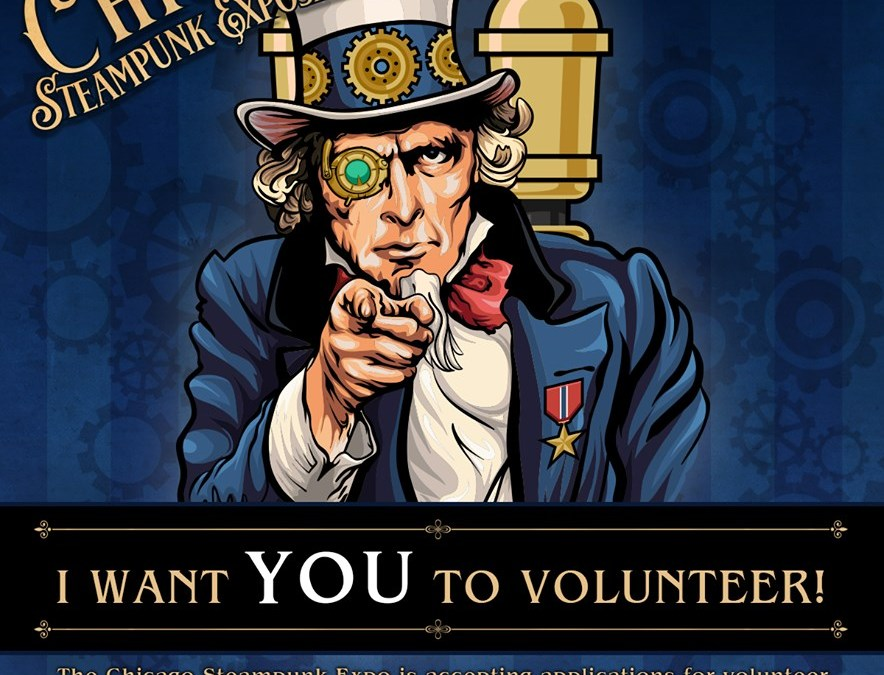 Volunteer at the Exposition