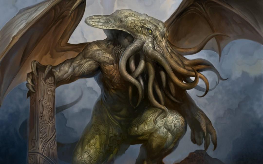 Brass. Lovecraftian. Terror.