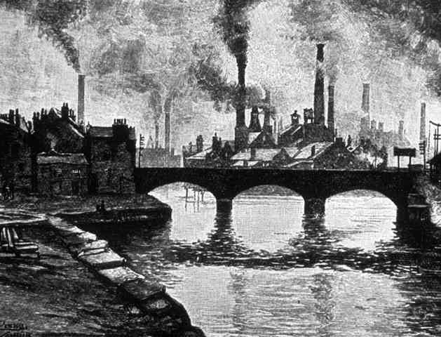 The Industrial Revolution then and now through literature. Now