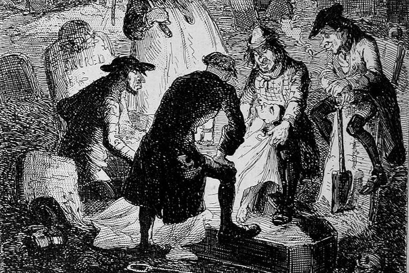 Resurrectionists: Grave Robbing For Fun and Profit
