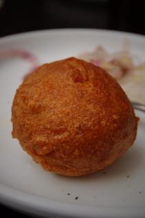 Ashley's fried meatball