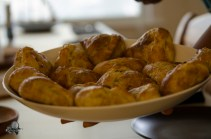 Jason's chicken makhani rolls Photo courtesy of Takeshi Nakagawa