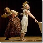 Candide - Goodman Theatre - Hollis Resnick and Lauren Molina