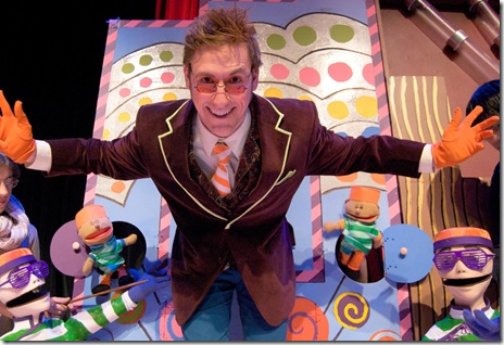 "Willie Wonka in Emerald City's 'Charlie and the Chocolate Factory"" at the Apollo Theatre Chicago"