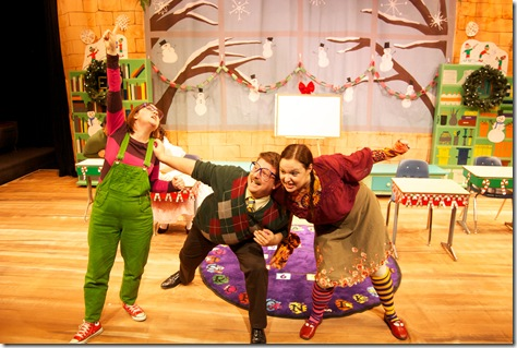 """A scene from Emerald City Theatre's """"Junie B. Jones,"""" adapted by Allison Gregory and Directed by Jacqueline Stone."""