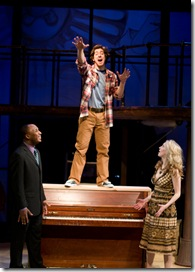 Bear Bellinger, Adrian Aguilar and Jenny Guse - tick, tick, boom - Porchlight Theatre
