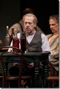 Harry Hope (Stephen Ouimette) in Eugene O'Neill's The Iceman Cometh directed by Robert Falls at Goodman Theatre