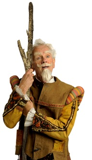 """James Harms as Don Quixote, in Light Opera Works' """"Man of La Mancha"""", directed by Rudy Hogenmiller. (photo credit: Jomes Harms)"""