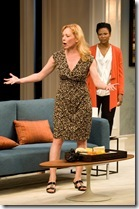 """Mariann Mayberry and Alana Arenas star in Steppenwolf Theatre's """"Good People"""" by David Lindsay-Abaire, directed by K. Todd Freman."""