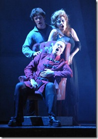 Lee Gregory, Ryan MacPherson, Suzan Hanson, Fall of the House of Usher, Chicago Opera Theater