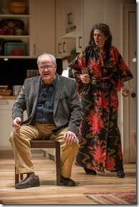 Francis Guinan and Molly Regan in Tribes, Steppenwolf Theatre